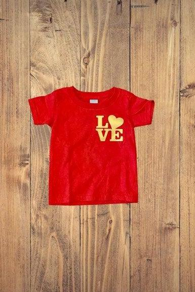 Valentine Day shirt for toddler, red love shirt, my first Valentine day, shirts for Valentine Day, gifts for toddler