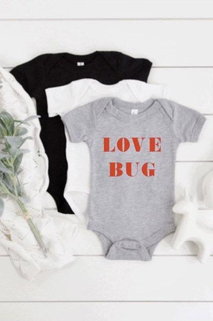 First Valentine Day, Baby Bodysuit, Infant Valentines Day, Baby Boy Outfit, Unisex Valentine Day Shirt